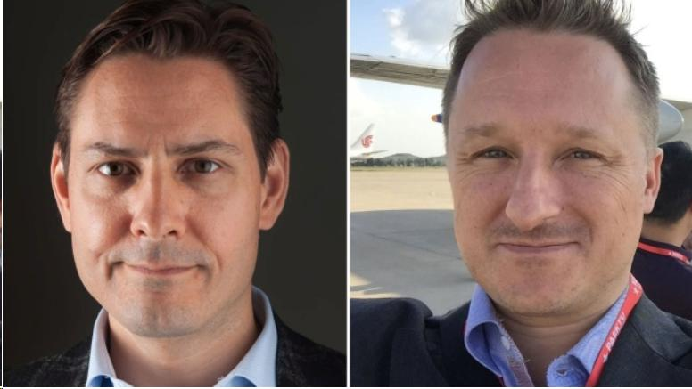 #freechinahostages campaign for Michael Kovrig and Michael Spavor